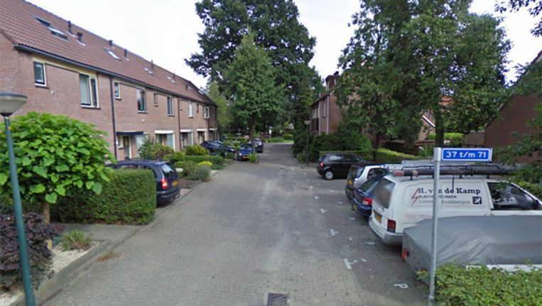 De Van Roekelweg in Apeldoorn. Beeld Google Streetview