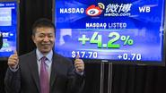 'Chinese Twitter' maakt geslaagd debuut op Wall Street
