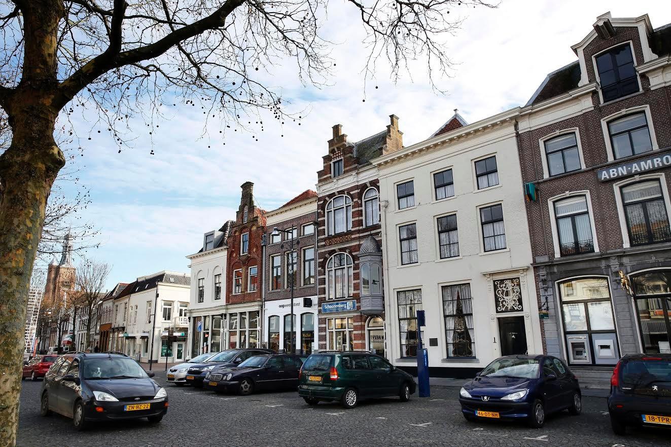 De Markt in Zaltbommel.