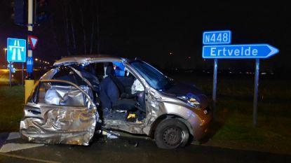 Drie gewonden bij ongeluk op kruispunt Stoepestraat met N49