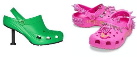 Les Crocs se déclinent en modèle à pointes ou à talons aiguilles