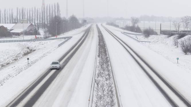 Opgelet voor gladde wegen in de morgen: mogelijk sneeuw tijdens ochtendspits