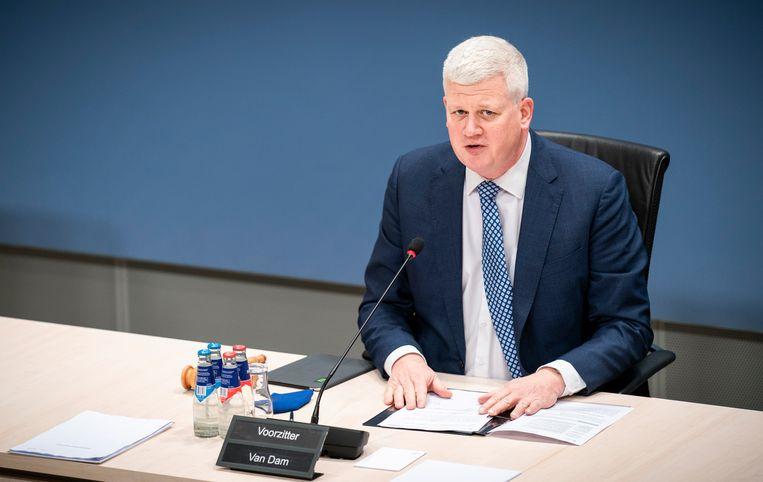 Chris van Dam is voorzitter van de parlementaire onderzoekscommissie Kinderopvangtoeslag.  Beeld Freek van den Bergh / de Volkskrant