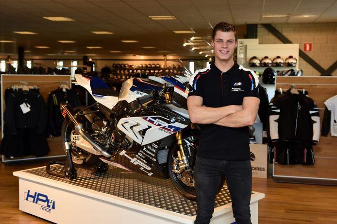 Ricardo Brink stapt na zeven jaar met Yamaha over op een BMW.