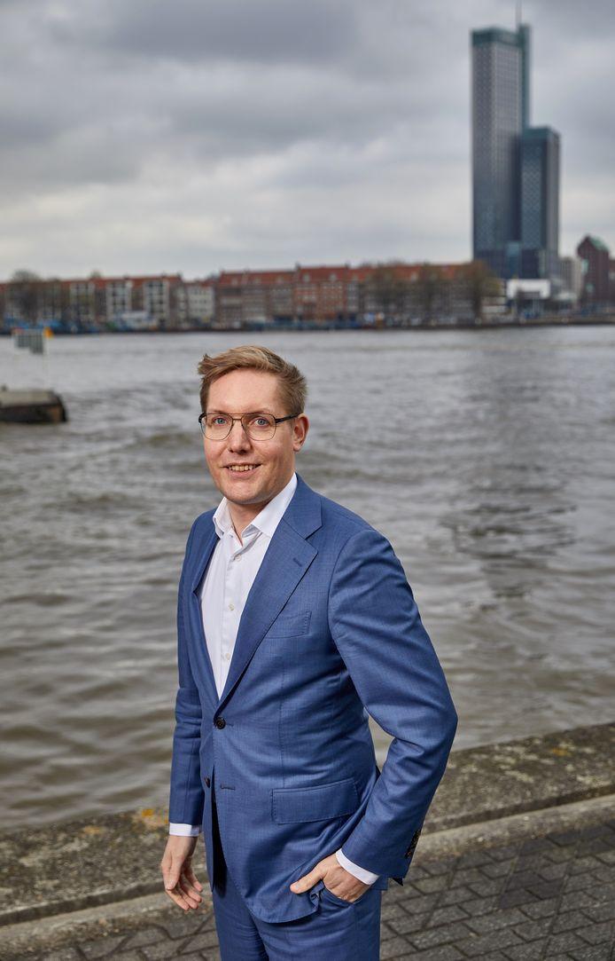 De Rotterdamse wethouder Arno Bonte (GroenLinks)