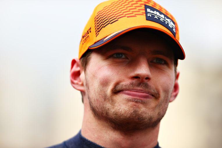 Max Verstappen heeft gek genoeg geen dag in Nederland gewoond. Beeld Formula 1 via Getty Images
