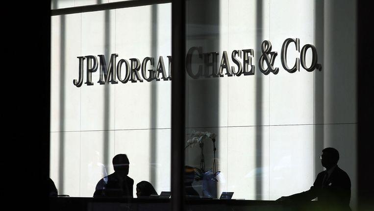 Flink in de lift: de bank JPMorgan Chase. Beeld getty