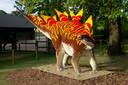 Een Stegosaurus.