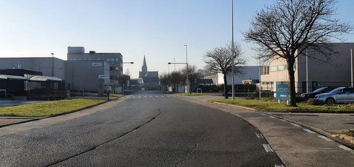 Het industrieterrein aan de Biezeweg in Kwatrecht is gebouwd op een voormalig munitiepark.