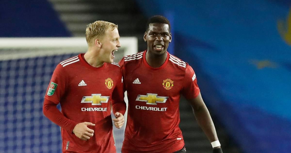 Van de Beek ziet concurrent uitvallen bij Manchester United - AD.nl