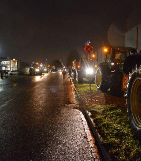 Boeren demonstreren bij distributiecentrum Jumbo in Breda: 'De eigenaar staat in de Quote, die kan best wat missen'