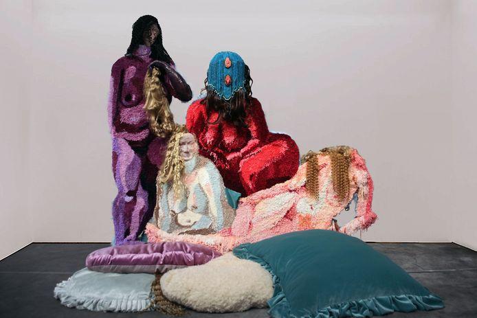Deze creatie van Larissa Esvelt is vanaf woensdag te zien op de expositie van jong talent in de Almelose kunsthal