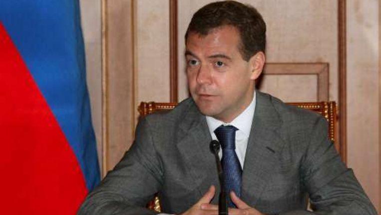 Dmitri Medvedev. Beeld UNKNOWN