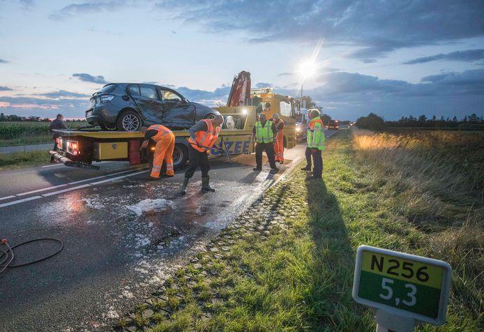 Een ongeval Deltaweg in 2019.