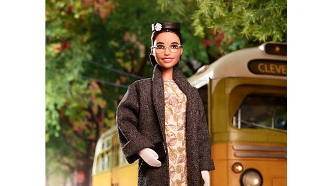 Mensenrechtenactiviste Rosa Parks en astronaute Sally Ride krijgen eigen Barbie-versie