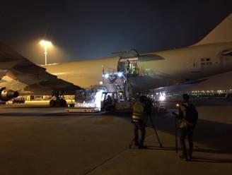 Vliegtuig met 6 miljoen nieuwe mondmaskers geland in Luik