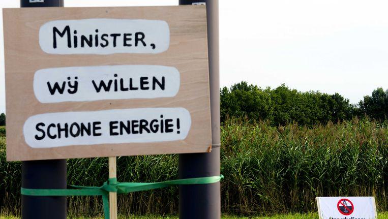 Boxtel heeft minister Henk Kamp (Economische Zaken) twee weken geleden gevraagd om de vergunning voor proefboringen naar schaliegas in Brabant in te trekken. Beeld ANP