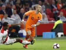 Bondsridder Sneijder na laatste interland: 'Ik voel hem wel van binnen'