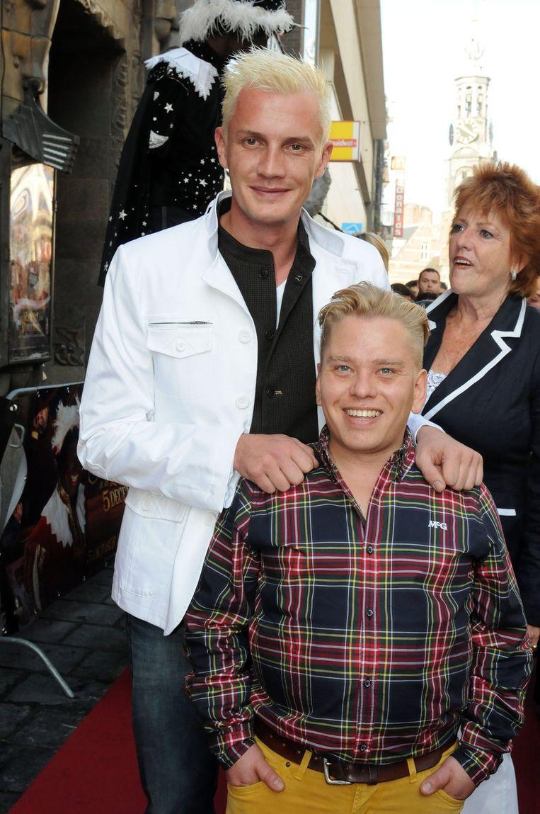Regisseur Martijn van Nellestijn (L) en Richard de Ruiter . Beeld anp