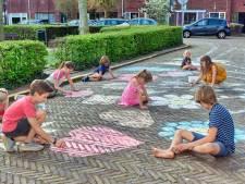 Breda eert coronahelden van boven tot onder met straatkunst: 'Wij steunen jullie'