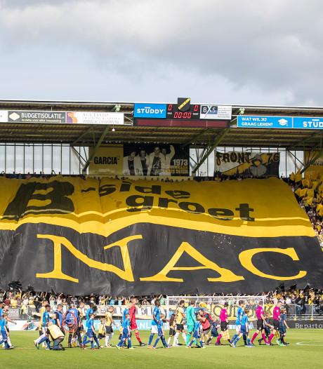 'NAC begint in Dordrecht, slechts één thuiswedstrijd op maandagavond'