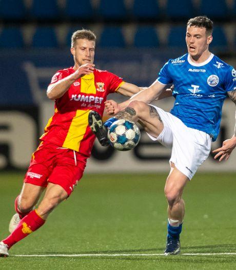 Derby tussen FC Den Bosch en TOP Oss is er ook zonder publiek één met het mes tussen de tanden