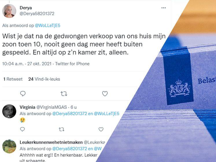 Toeslagenslachtoffers twitteren bizarre details