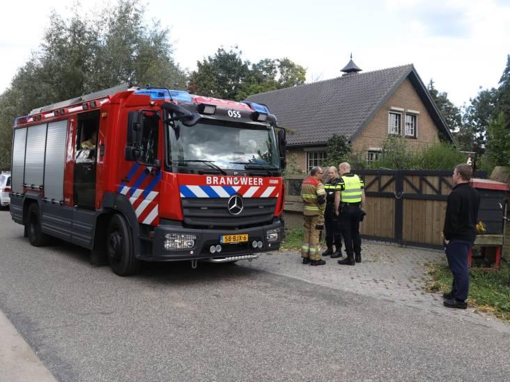 Brandje in Brandstraat in Oss snel geblust