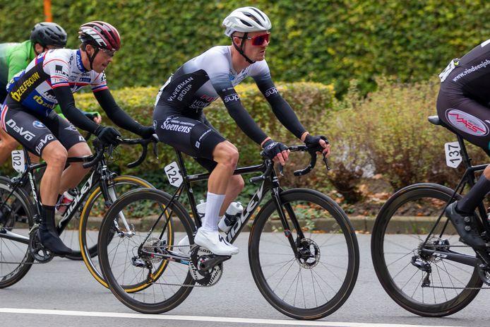 Brent Van de Kerkhove reed in Lokeren zijn laatste koers als elite zonder contract.