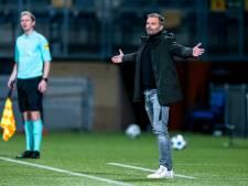 NAC-trainer Steijn: 'Mouwen opgestroopt en gespeeld voor de winst, dus ik ben wel tevreden'