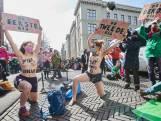 Kleine honderd demonstranten bij Binnenhof opgepakt