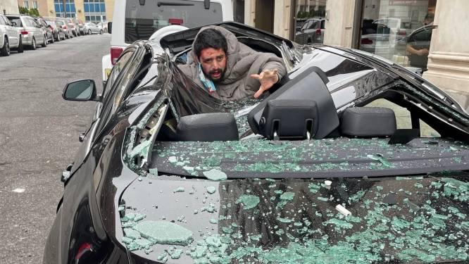 Un homme survit à une chute du neuvième étage en tombant sur une BMW