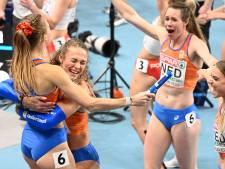 EK-goud voor Enschedese Dopheide op 4x400 meter