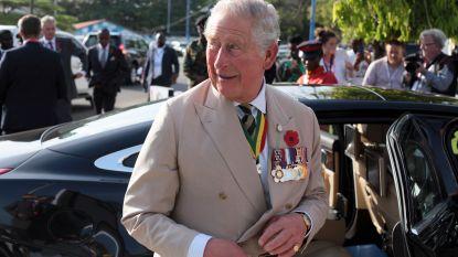 Prins Charles liet zijn zonen vuilnis ophalen