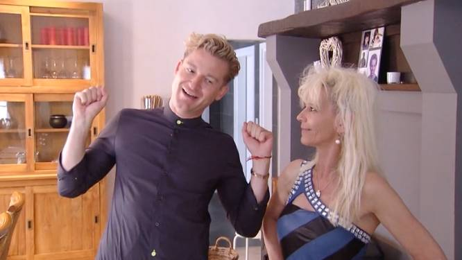 """Jani heeft een zware opdracht morgen: """"Hij ziet er zo saai uit, en zij volledig over the top sexy"""""""