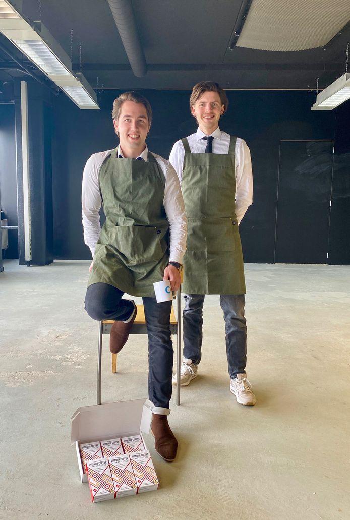 Florian Fermin (l.) en Stefan Wateler, oprichters van Cupplement