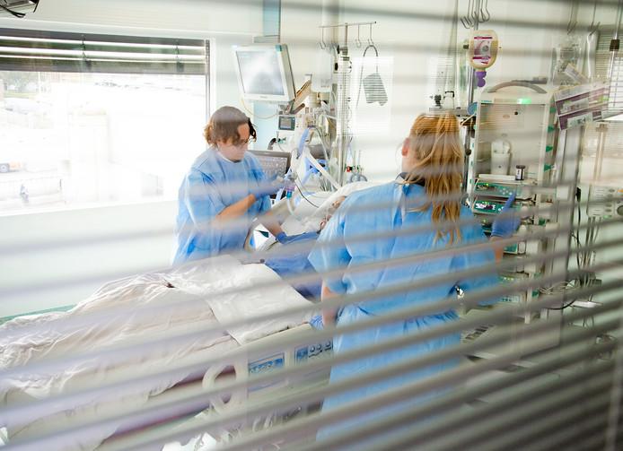 De intensive care van het ETZ in Tilburg