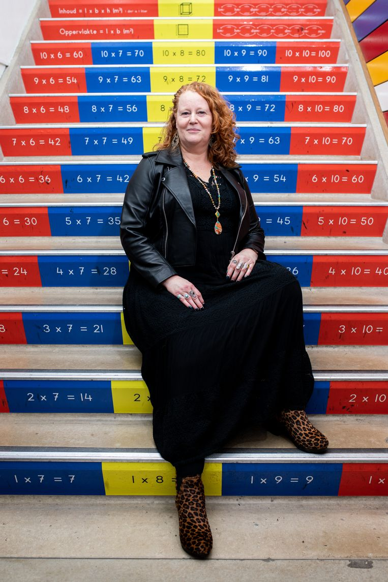 Juf Jolanda Rietel van OBS De Vier Windstreken. Beeld Nosh Neneh