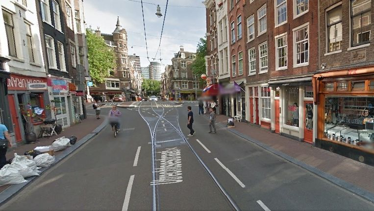 De Utrechtsestraat Beeld Google maps