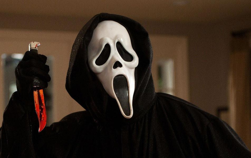 """Le tueur masqué de """"Scream"""", la saga de Wes Craven, a inspiré Jaradin pour mettre fin aux jours d'Allison."""