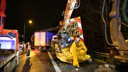 Moeizame ochtendspits na zwaar ongeval op E19 in Mechelen