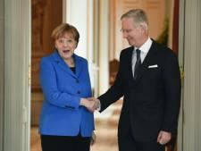 Le roi Philippe reçoit Angela Merkel la semaine prochaine