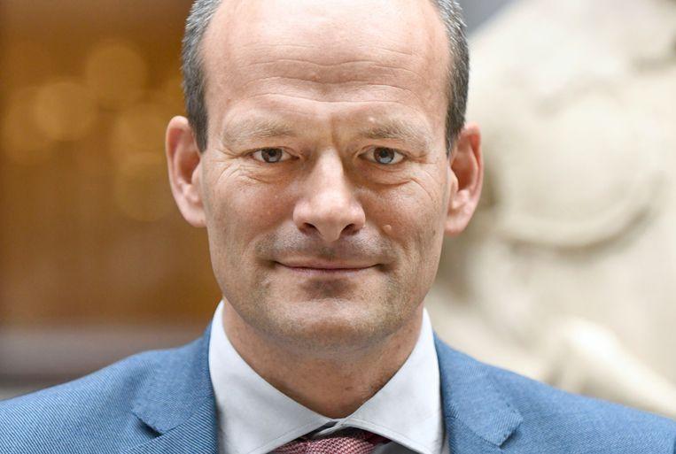 Rik van der Linden, milieuwethouder van Dordrecht. Beeld Peter Hilz