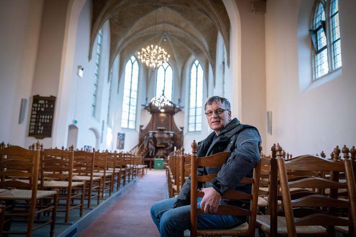Jaap van Merkerkn rentmeester van de protestatnte kerk in Driel
