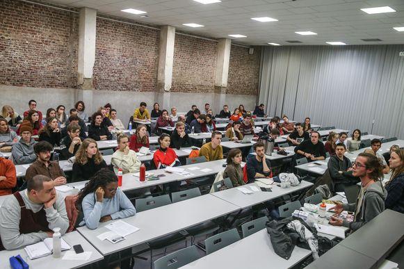Students for Climate Gent vergaderde maandagavond