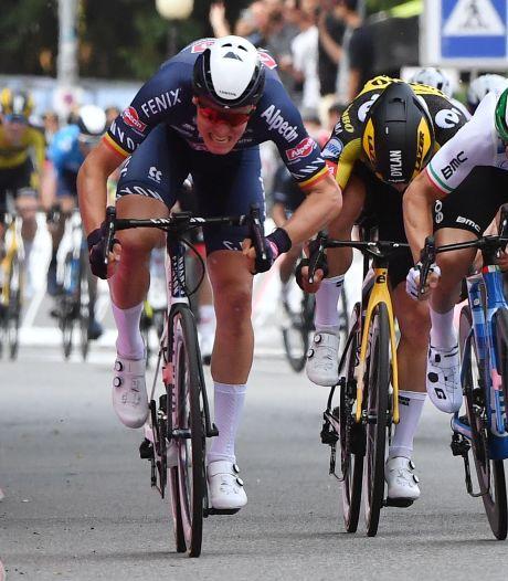 Op een mooiere dag had Merlier in de Giro niet kunnen winnen: 'Word er emotioneel van'