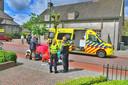 Ongeluk in Leende.