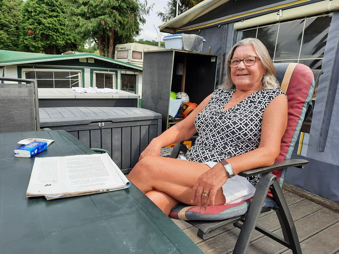 Ingrid Lagaisse: 16 jaar op camping Panorama in Ruien.