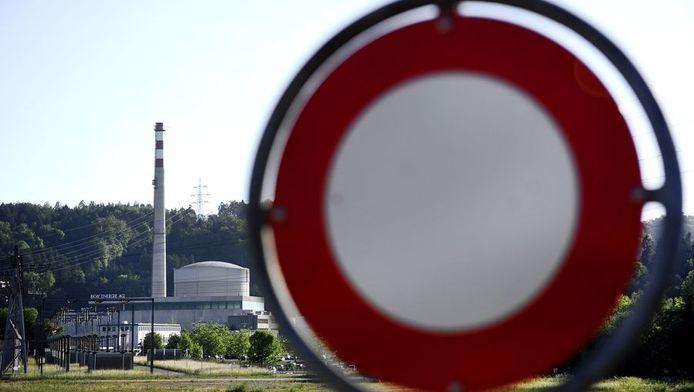 De kerncentrale van Mühleberg in het Zwitserse kanton Bern.