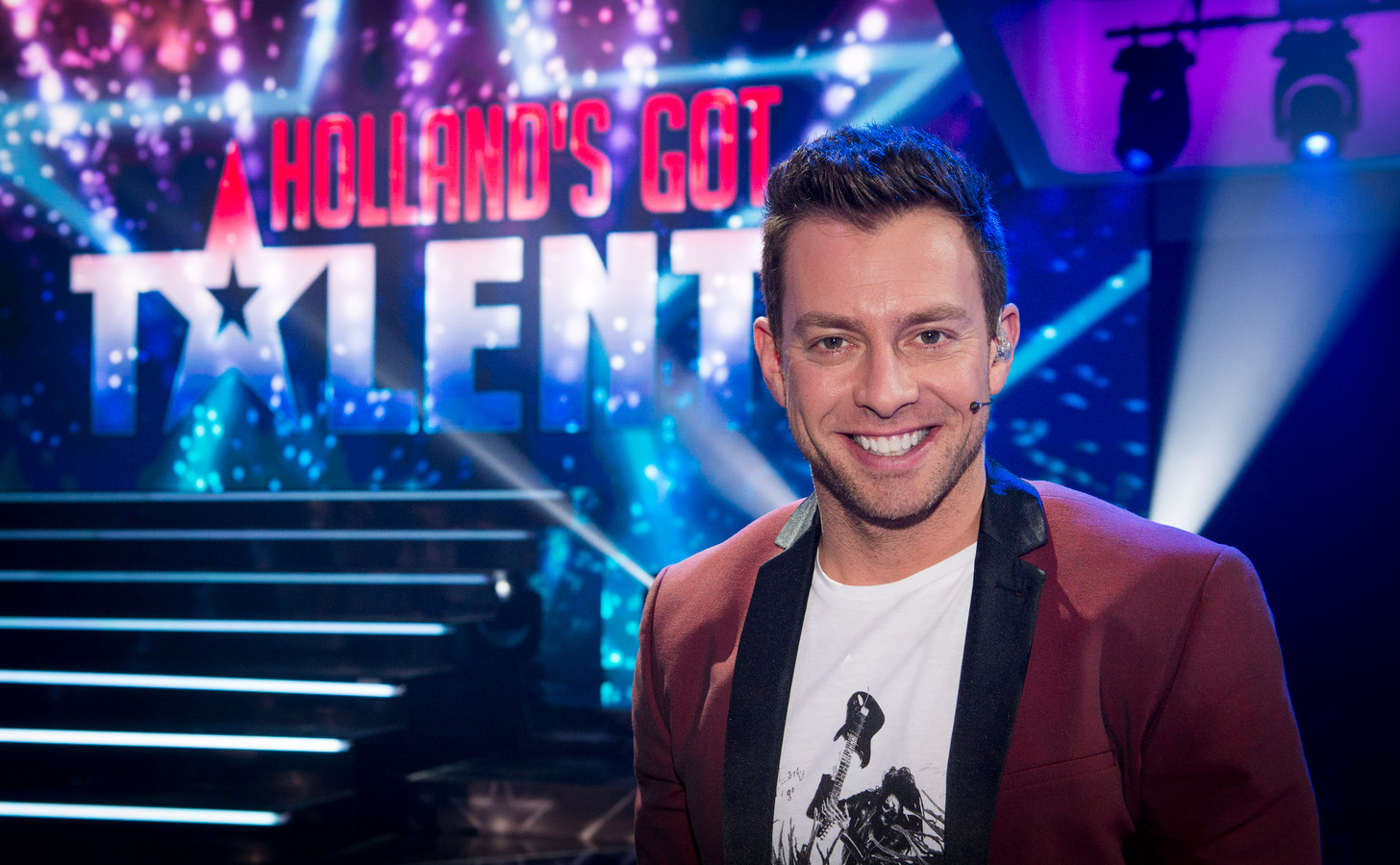 Dan Karaty , jurylid van Holland's Got Talent.